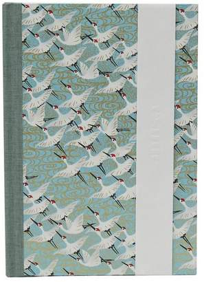 Esmie White Cranes Medium Journal