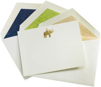 Mrs. John L. Strong Elephant Notes- Set of 12