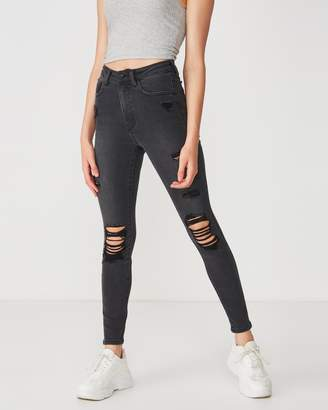 Supre The Skinny Destroyed Premium Jeans