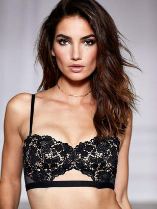 Very Sexy Strapless Lace Bustier