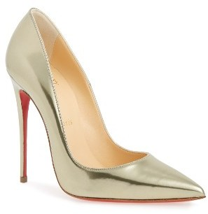 Women's Christian Louboutin So Kate Pointy Toe Pump $695 thestylecure.com