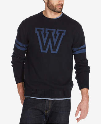 Weatherproof Vintage Men Varsity Sweater