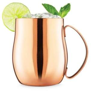 Final Touch Double-Wall Moscow Mule Glass in Copper