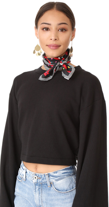 Marc Jacobs Hearts Scarf $125 thestylecure.com