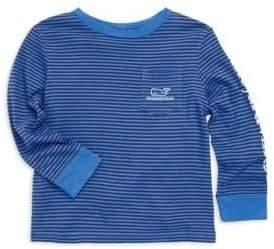 Vineyard Vines Toddler's, Little Boy's& Boy's Stripe Graphic Sweater