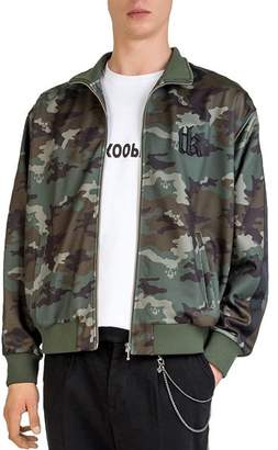 The Kooples Camouflage Zip Jacket