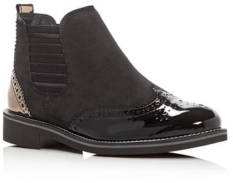 Paul Green Jordy Brogue Booties $369 thestylecure.com