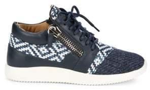 Giuseppe Zanotti Multimedia Mid-Top Sneakers