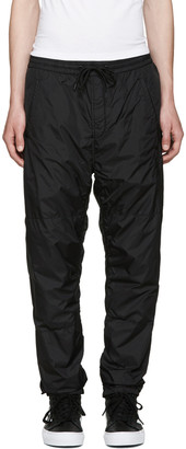 Alexander Wang Black Embroidered Track Pants $450 thestylecure.com