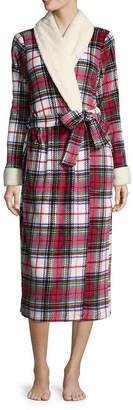 Liz Claiborne Li Claiborne Plush Long Robe