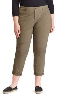 Lauren Ralph Lauren Plus Plus Straight Chino Pants