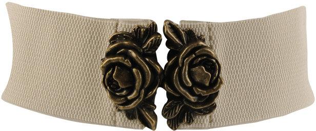 Double Rose Elastic Belt