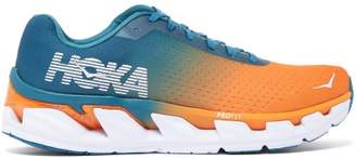 Hoka One One - Elevon Active Ombre Mesh Running Trainers - Mens - Blue Multi