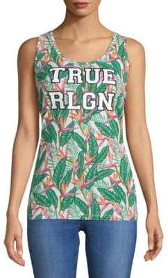 True Religion Tropical Tank Top
