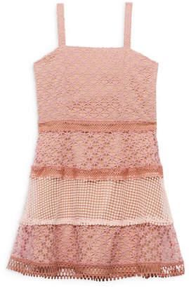 Bardot Junior Kristen Multi Lace Dress, Size 8-16