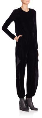 Ralph Lauren Collection Megan Velvet Jumpsuit $3,750 thestylecure.com