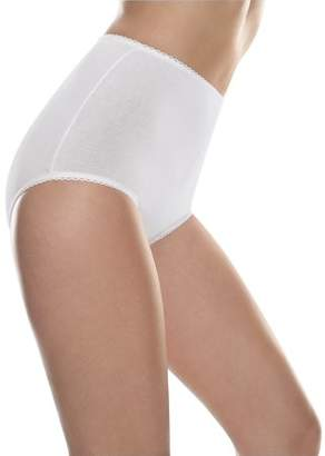 Hanes Ladies Cotton Stretch Shaping Brief 2 Pack