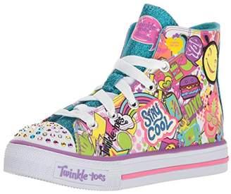 Skechers Kids' Shuffles-Trendy Talk Sneaker