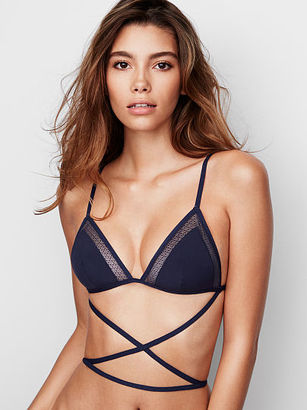The Bralette Collection Crochet Lace Triangle Bralette $9.99 thestylecure.com