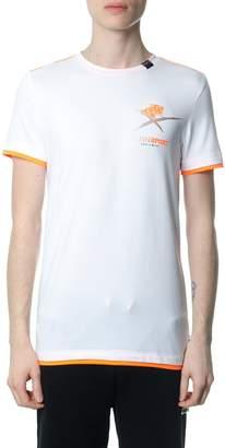 Philipp Plein Agile White And Orange T-shirt