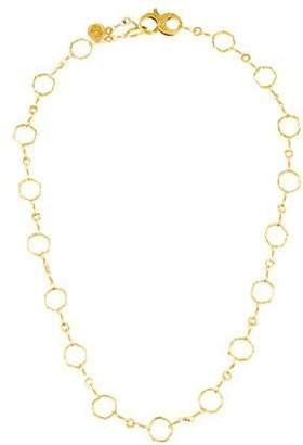 Dominique Cohen 18K Basic Hex Chain Necklace