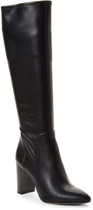 Franco Sarto Black Kolette Tall Block Heel Boots