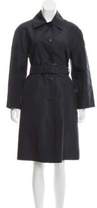 Prada Long Lightweight Coat