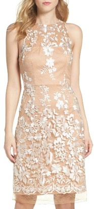 Women's Betsey Johnson Lace Midi Dress $148 thestylecure.com