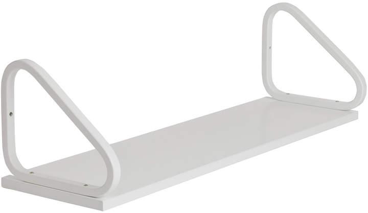 Wandregal 112B, Weiß lackiert