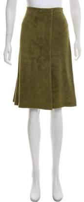 Eres Knee-Length Wrap Skirt w/ Tags