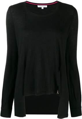 Patrizia Pepe asymmetric knit sweater