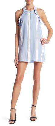 Romeo & Juliet Couture Front Zip Stripe Dress