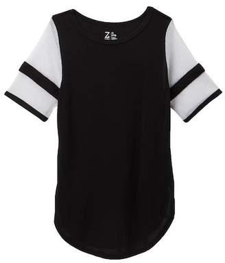 Zella Z by Mesh Inset Varsity Tunic (Little Girls & Big Girls)