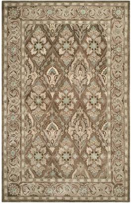 Safavieh Anatolia Rhonda Framed Floral Wool Rug