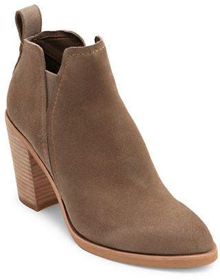 Dolce Vita Twin Gore Suede Booties