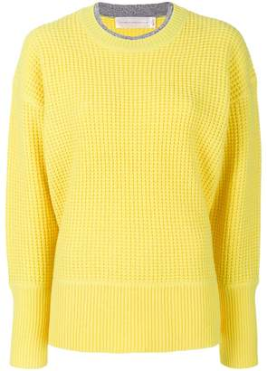 Victoria Beckham Victoria waffle knit jumper