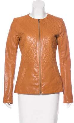 Thakoon Quilted Leather Jacket