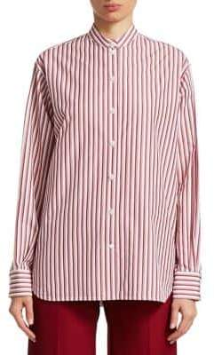 Victoria Beckham Pinstripe Button-Down Shirt