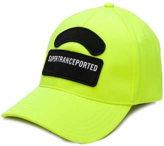 Diesel contrast slogan patch cap