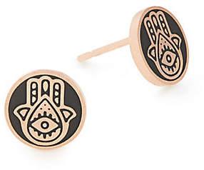 Alex and Ani Hamsa Stud Post Earrings