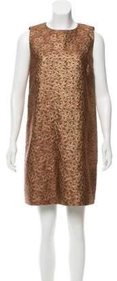 RED Valentino Brocade Mini Dress