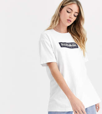 Napapijri Sox t-shirt in white