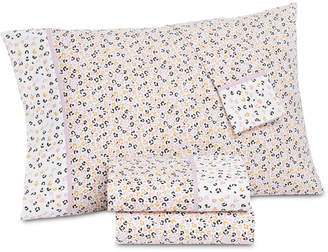 Martha Stewart Collection Whim by Collection Novelty Print 4-pc Queen Sheet Set, 200 Thread Count 100% Cotton Percale