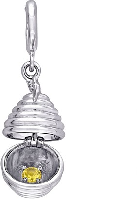 Laura Ashley Jewelry Sterling Silver Beehive Charm