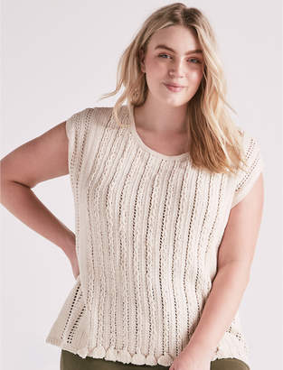 Lucky Brand POINTELLE PONCHO