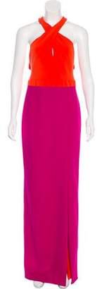 Nicole Miller Halter Maxi Dress w/ Tags