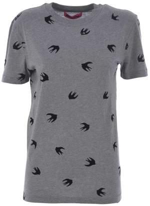 McQ Swallow Print T-shirt
