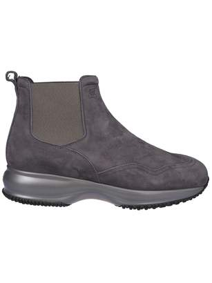 Hogan Elasticated Side Panels Ankle Boots