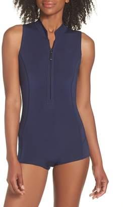 Patagonia Spring Juanita Zip Front Swimsuit