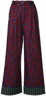 Michel Klein flared trousers